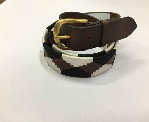 Leather Polo Belt - Style1