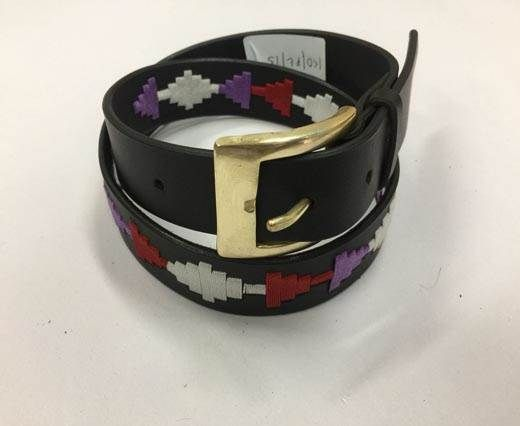 Leather Polo Belt - Style4