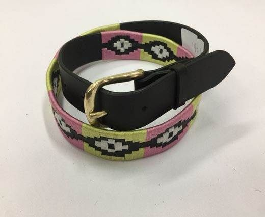 Leather Polo Belt - Style9