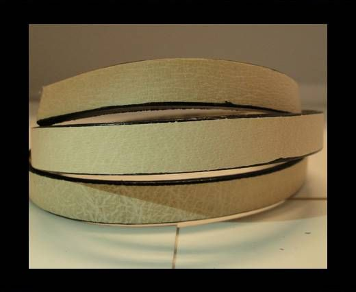 Flat Leather- Natural Edges -Natural-10mm