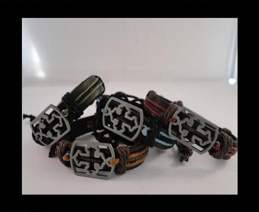 Leather bracelet SUN-BO538