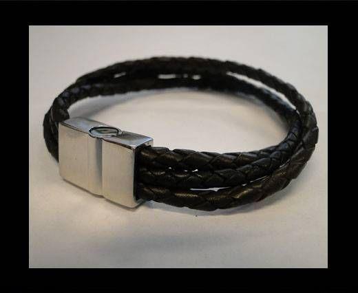 Leather Bracelets MLBSS-1