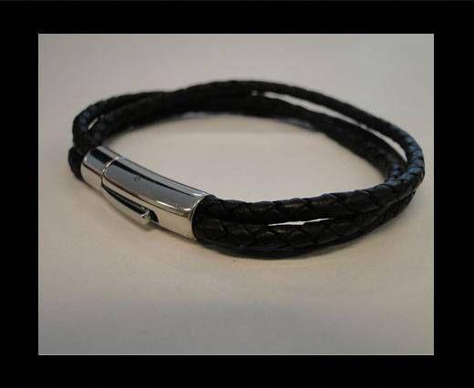Leather Bracelets MLBSS-21