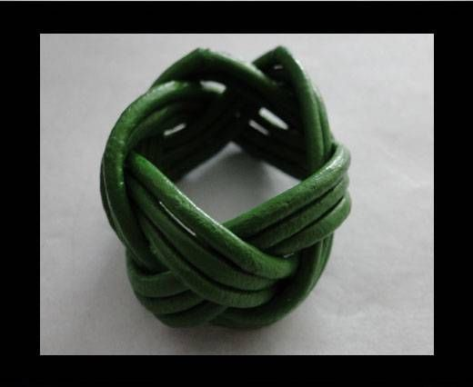 Leather-Ring-Green