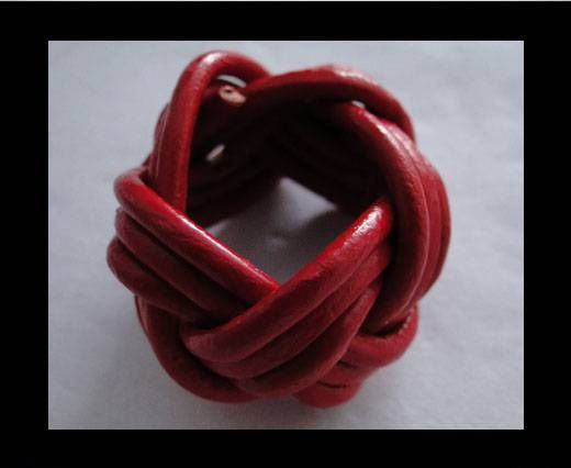 Leather-Ring-Red