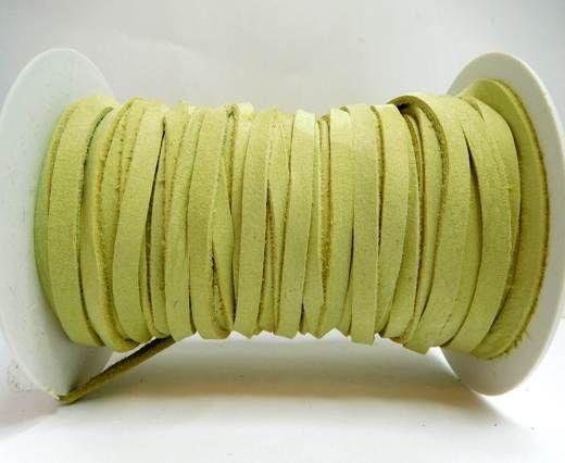 Nubuck Flat - 5mm - Light green