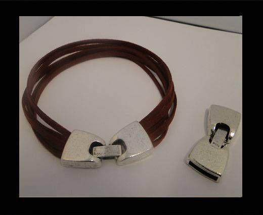 Locks for leather/Cords zaml-53