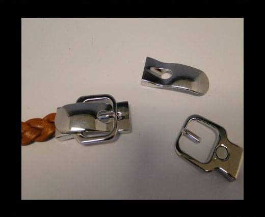 Magnetic Locks for leather Cords - MGL-45-10by3MM-Steel