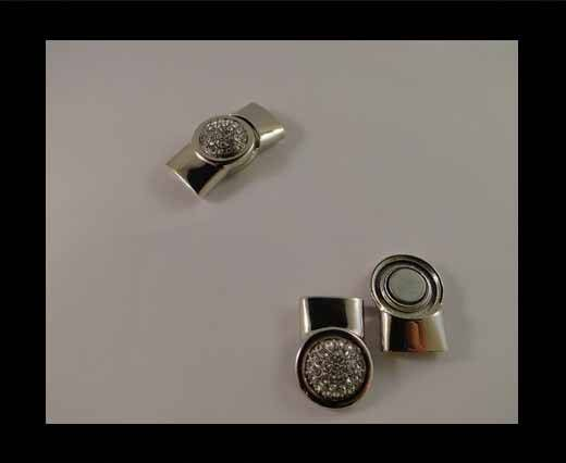 Magnetic Locks for leather Cords - MGL-33-15mm by 5mm