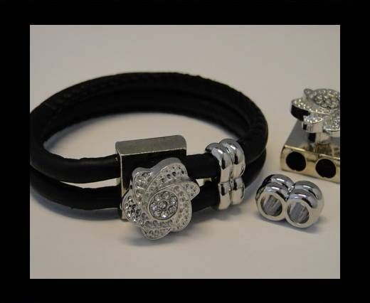 Magnetic Locks for leather Cords - MGL-92-4mm