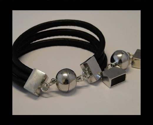 Magnetic Locks for leather Cords - MGL-103-12,5*5 mm