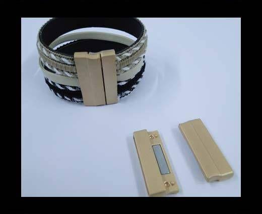 MGL-235-30*3mm-Matt Gold
