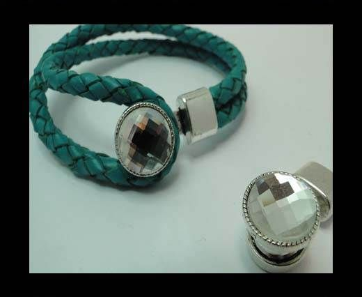 MGL-333-10*5mm-Antique SILVER