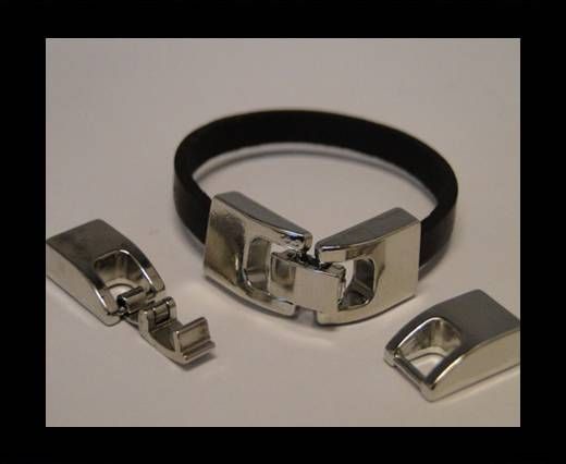 Magnetic Locks for leather Cords - MGL-57-6MM-BY-2MM