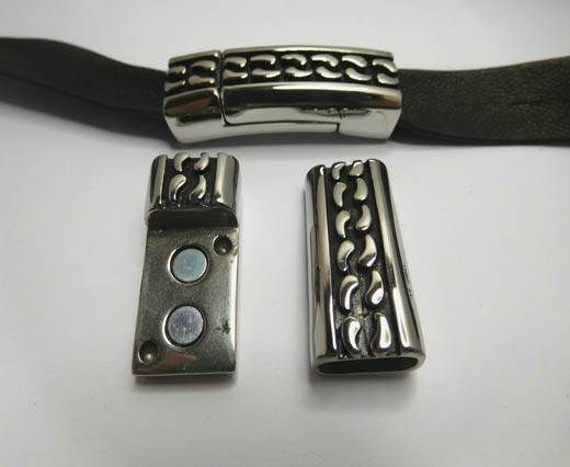 Stainless Steel Magnetic clasp MGST-238-12*6mm-Steel