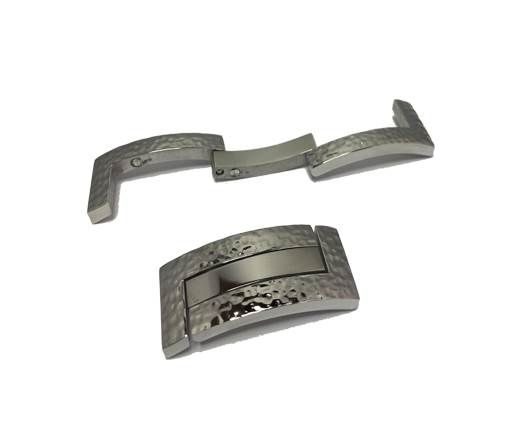 Stainless Steel Magnetic Clasp - MGST-137-16*3.2mm