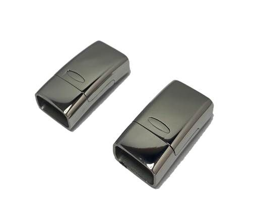 Stainless Steel Magnetic clasps - MGST-150-14*6mm