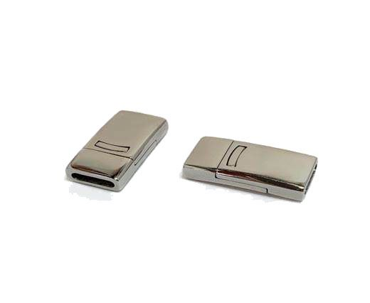 Stainless Steel Magnetic clasps - MGST-109-10*3.5mm-Steel