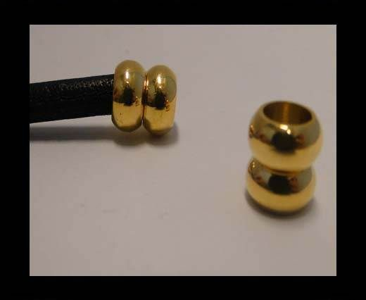 Stainless Steel Magnetic clasp MGST-116-6mm-Gold