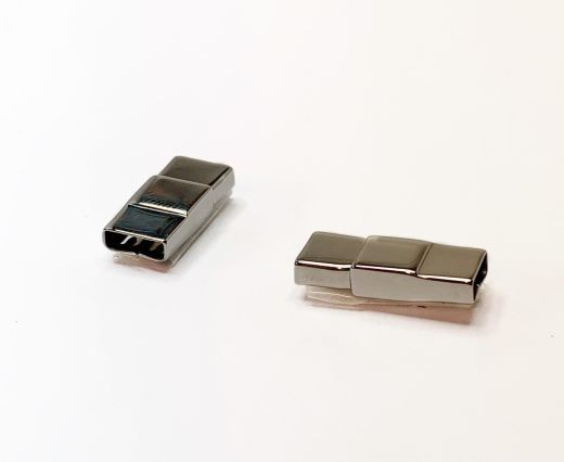 Stainless Steel Magnetic Clasps - MGST-165-6,5*2,5MM-Steel