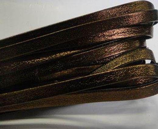 Nappa Leather Flat -5mm-Bronze Lamina