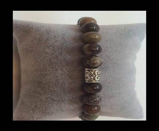 Natural Stone Bracelet 4 Picasso Jasbe