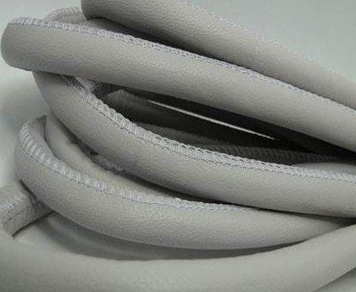 Real Nappa Leather Cords-Light Grey-12mm