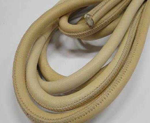 Real Nappa Leather Cords- Beige-8mm