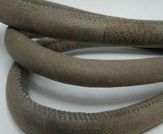 Real Nappa Leather Cords-Taupe-12mm