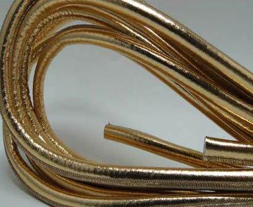Real Round Nappa Leather cords - Rose Gold - 8mm