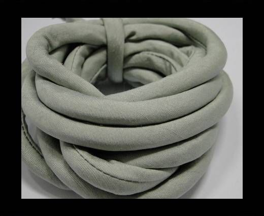 Real silk cords with inserts - 8 mm - Stony Mist