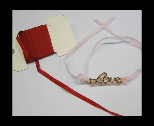 Real Silk Ribbons -A 139-Wine Red - 4mm