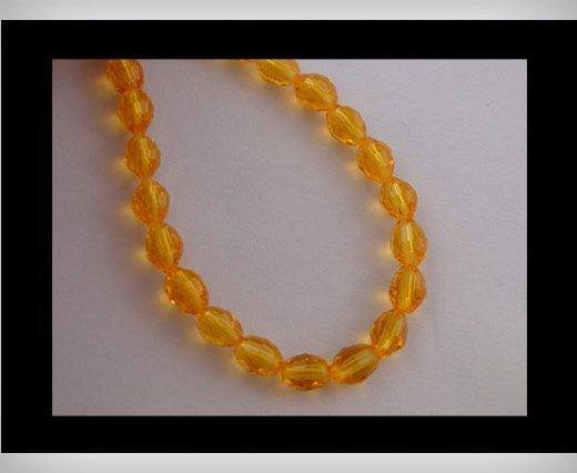 Rice Glass Beads -4mm*6mm-Sun