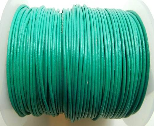Round Leather Cord -1mm- GREEN