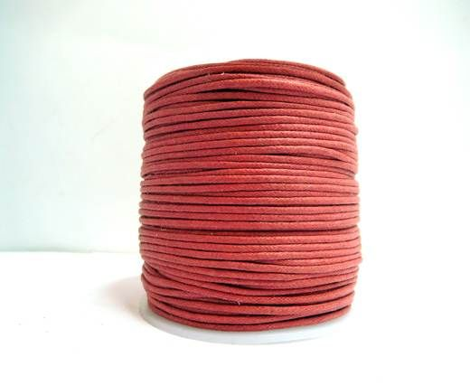Wax Cotton Cords - 1,5mm - Rouge