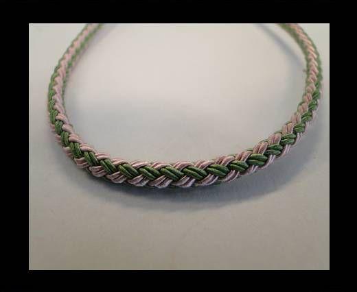 Round-Braid-Cotton-Green & Pink