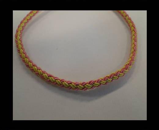 Round-Braid-Cotton-Yellow & Pink