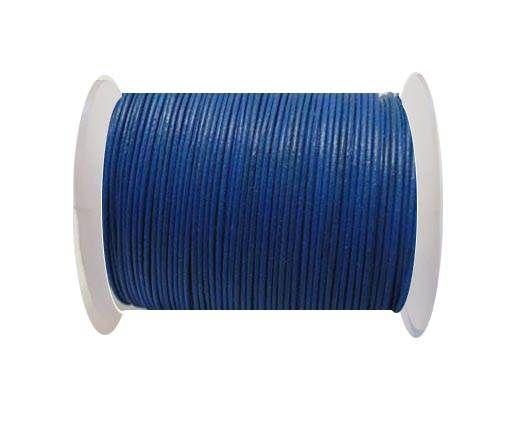 Cordoncino di cuoio -1mm- Blu