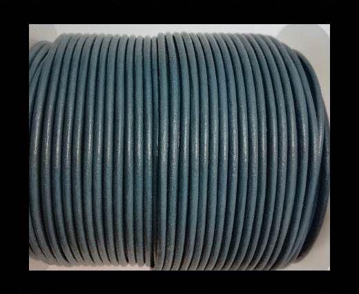 Round Leather Cord-1,5mm-BLUISH GREY