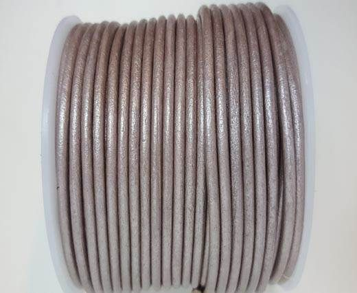 Round Leather Cord - SE.M.Taupe  - 3mm