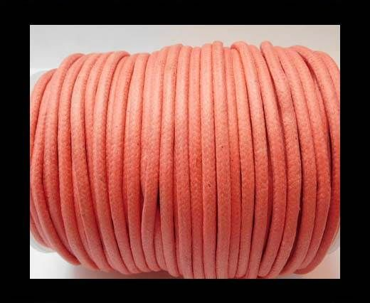 Round Wax Cotton Cords - 3mm - Dark Pink