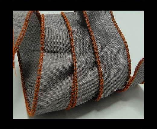 SC-Silk-Taper-1-Grey and Orange-2,5cms
