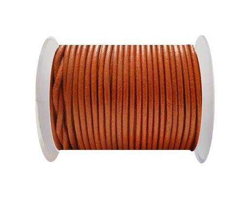 Cordoncino di cuoio-1,5mm - SE/R/Arancione Metallico