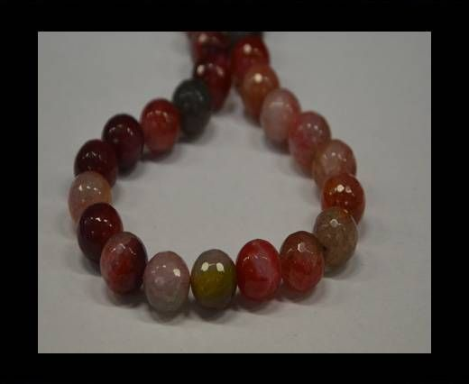 Semi Precious Stones item 3-14mm-Pink