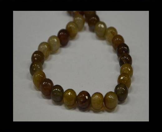 Semi Precious Stones item 5-10mm-Multi Mokka