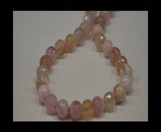 Semi Precious Stones item 5-10mm-Pink