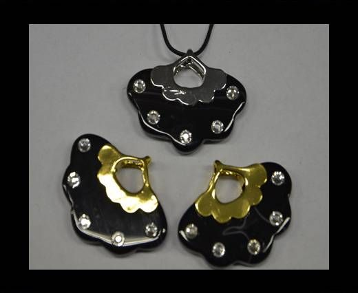 Semi Precious Stones item 26-Silver