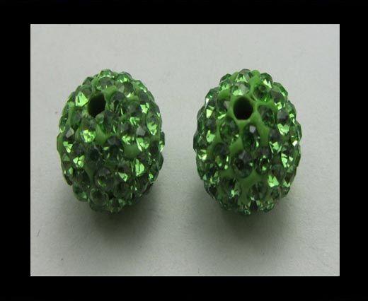 Shamballa-Bead-12mm-Peridot