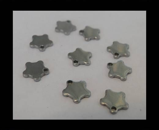 Stainless steel logo plate SSP-142 - 0,8 -BY-2,7mm