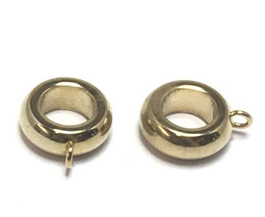 Stainless steel part for leather SSP-345-7mm-gold